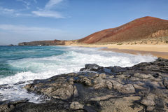 Playa lambra isla canarias. Spain Stock Image