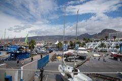 Playa Las美洲港口 图库摄影