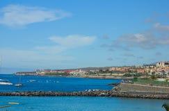 Playa Las Americas, Tenerife, Spagna fotografia stock libera da diritti