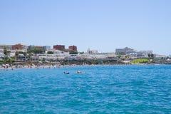 Playa Las Americas, Tenerife, Spanien royaltyfri fotografi