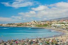 playa Las Amériques, Tenerife, Espagne Photos libres de droits