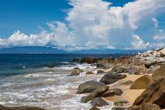 Playa Las Animas w Meksyk obraz royalty free