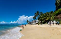 Playa Las Animas w Meksyk obraz stock
