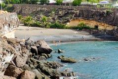 Playa Las Galgas fotos de archivo