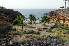 Playa Las Galgas fotografía de archivo libre de regalías