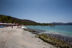Playa las Gatas Royalty Free Stock Photography