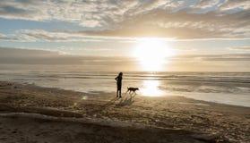 Playa Levin Nueva Zelanda de Himutangi fotos de archivo libres de regalías