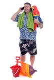 Playa lista Imagen de archivo libre de regalías