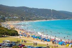 Playa - Lorne Imagen de archivo libre de regalías