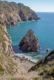 Playa Louriçal Foto de archivo