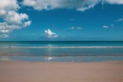 Playa Macao, Punta Cana, Dominicaanse Republiek: verbazend openbaar strand, glasheldere overzees, tropisch paradijs; prachtig sce stock fotografie