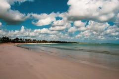 Playa Macao, Punta Cana, Dominican Republic: amazing public beach, crystal clear sea, tropical paradise; wonderful scenario,. Nobody around stock image