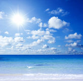 Playa magnífica Fotos de archivo