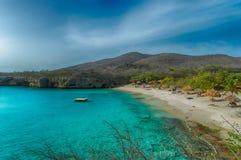 Playa magnífica de Knip Fotos de archivo libres de regalías