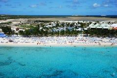 Playa magnífica del turco Fotografía de archivo