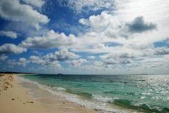 Playa magnífica del turco Imagenes de archivo