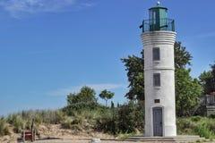 Playa Manning Lighthouse del imperio fotografía de archivo