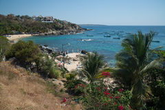 Playa Manzanillo, Oaxaca, México imagens de stock royalty free