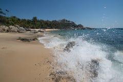 Playa Manzanillo, Oaxaca, Mexico royalty-vrije stock foto