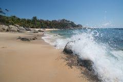 Playa Manzanillo, Oaxaca, Mexico royalty-vrije stock afbeeldingen