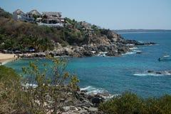 Playa Manzanillo, Oaxaca, Mexico stock foto