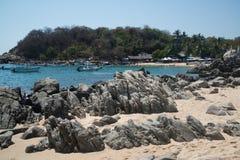 Playa Manzanillo, Oaxaca, Mexico Stock Photography