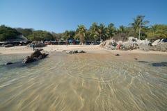Playa Manzanillo, Oaxaca, Mexico Royalty Free Stock Photos