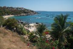 Playa Manzanillo, Oaxaca, Mexique images libres de droits