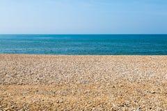 Playa, mar y cielo Fotografía de archivo libre de regalías