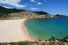 Playa maravillosa en Dai Lanh, Phu Yen, Vietnam Fotografía de archivo libre de regalías