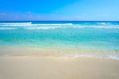 Playa Marlin in spiaggia di Cancun nel Messico fotografie stock