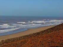 Playa marroquí Fotografía de archivo libre de regalías