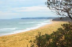 Playa media - Sapphire Coast Fotografía de archivo