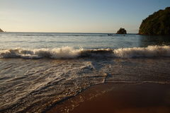 PLAYA MEDINA, Caraïbisch strand Stock Foto's