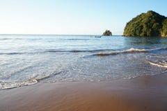 PLAYA MEDINA, karibisk strand royaltyfri fotografi