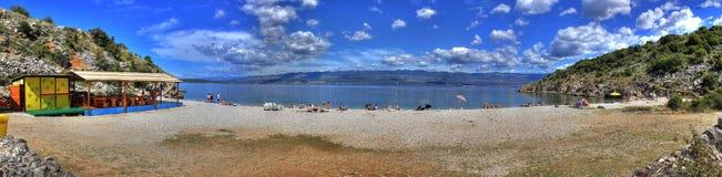 Playa mediterránea Imagen de archivo