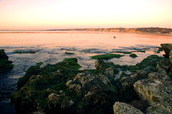 Playa meridional hermosa de California Imagen de archivo