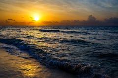 Playa mexicana Foto de archivo libre de regalías