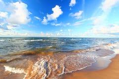 Playa Michigan del lago Superior Imagenes de archivo