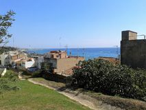 Playa Montgat Immagine Stock Libera da Diritti