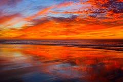 Playa Morrocco de Legzira imagen de archivo libre de regalías