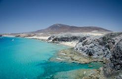 Playa mujeres od playa papagayo Zdjęcie Stock