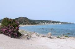 Playa natural foto de archivo