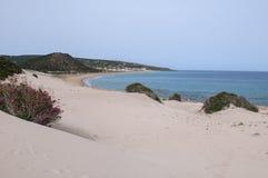 Playa natural foto de archivo libre de regalías