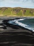Playa negra Imagenes de archivo