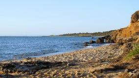 Playa negra de la roca - Victoria, Australia fotografía de archivo libre de regalías