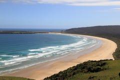 Playa Nueva Zelandia Imagenes de archivo