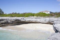 Playa ocultada Imagenes de archivo