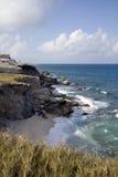 Playa ocultada Imagen de archivo