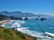 Playa Oregon del cañón imágenes de archivo libres de regalías